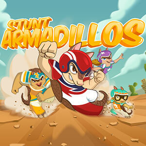 Staff Newsletter's online Stunt Armadillos game