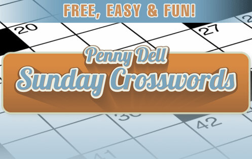 Try the new Sunday Crossword, no pen, pencil, or eraser required.
