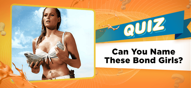 Can You Name These Bond Girls?