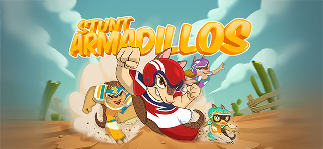 Cox Media Access Atlanta's free Stunt Armadillos game