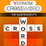 Free The Independent's Concise Crossword game by Independent