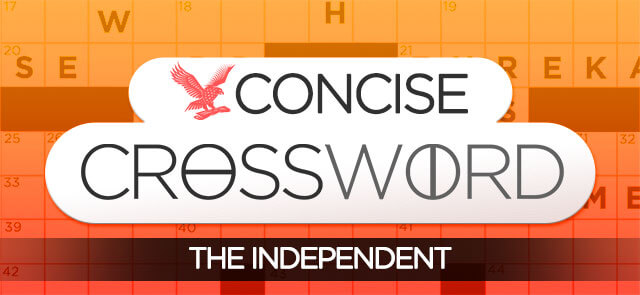 Independent's free The Independent's Concise Crossword game