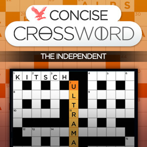 Independent's online The Independent's Concise Crossword game