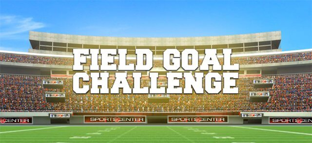 Sports Illustrated Kids's free Field Goal Challenge game