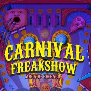 Sports Illustrated Kids's online Freakshow pinball game