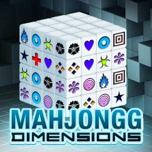 TooFab.com's online Mahjongg Dimensions game