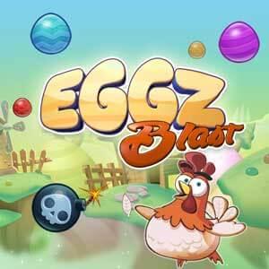 TooFab.com's online Eggz Blast game