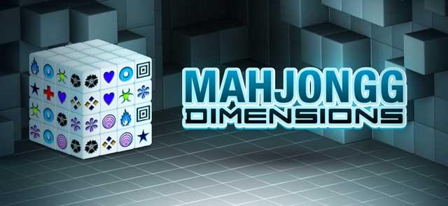 WHOoT's free Mahjongg Dimensions game