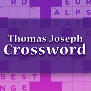 xfinity's online Thomas Joseph Crossword game