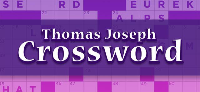 Philly's free Thomas Joseph Crossword game