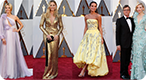 Oscars Red Carpet Fashion Quiz: Can you match the famous designer label to the star?