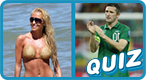 Footballers' WAGs Photo Quiz