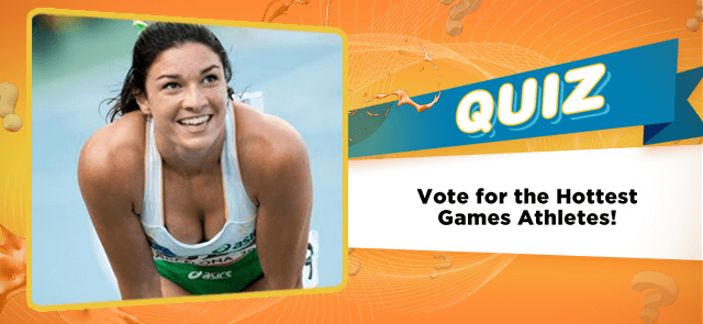 Vote for the Hottest Games Athletes!