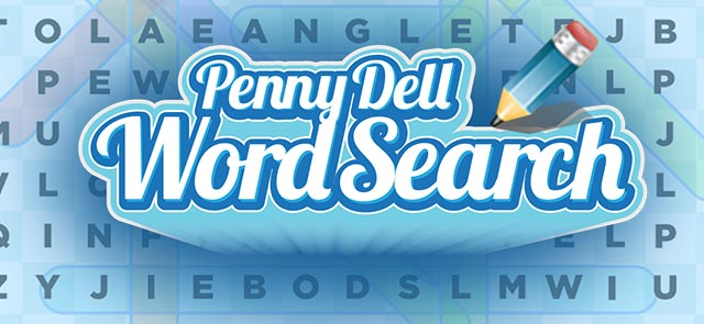 Lexington's free Penny Dell Word Search game