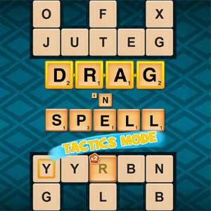 LA Times's online Drag'n Spell game