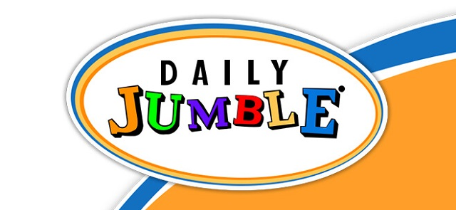 LA Times's free Daily Jumble game