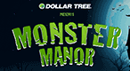 Dollar Tree Monster Manor