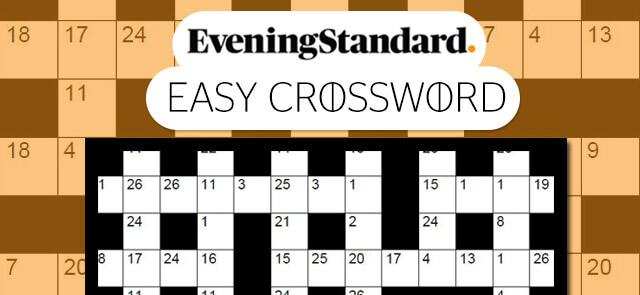 Evening Standard's free The Evening Standard's Easy Crossword game