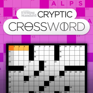 Evening Standard's online The Evening Standard's Cryptic Crossword game