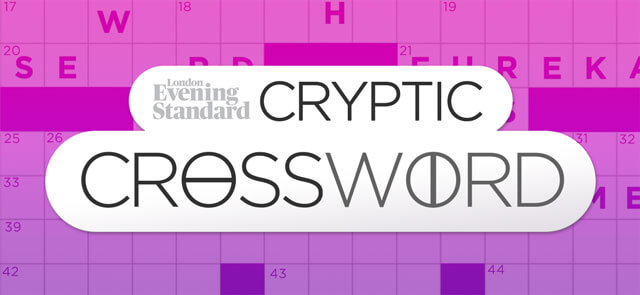Evening Standard's free The Evening Standard's Cryptic Crossword game