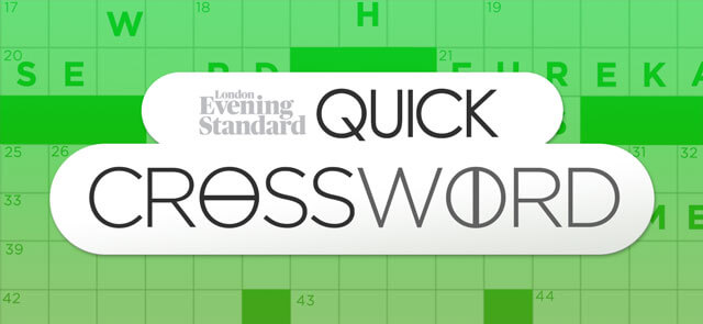 Evening Standard's free The Evening Standard's Quick Crossword game