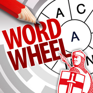 Express's online Wordwheel game