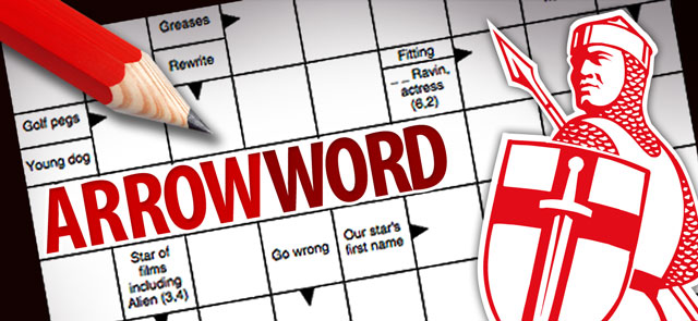 Express's free Arrowword game