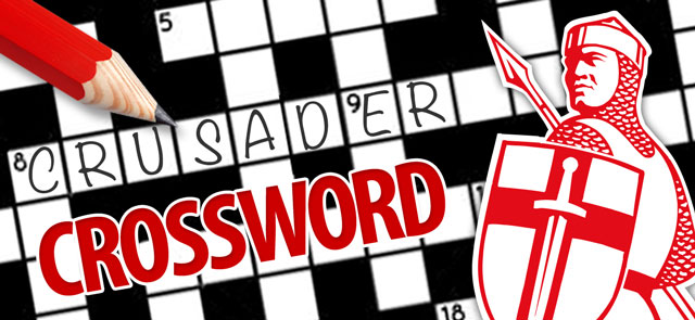 Express's free Crusader Crossword game