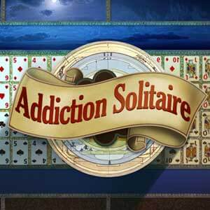 Las Vegas Review Journal's online Addiction Solitaire game