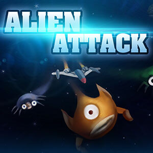 Sports Illustrated Kids's online Alien Attack game