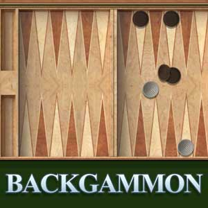 Puzzles Palace's online Backgammon game