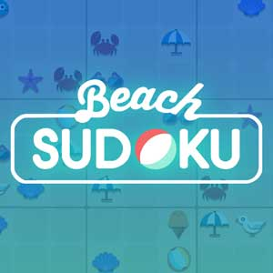 Washington Post's online Beach Sudoku game
