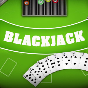 Express's online Blackjack game