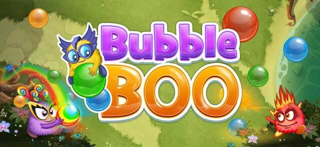 QCOnline's free Bubble Boo game