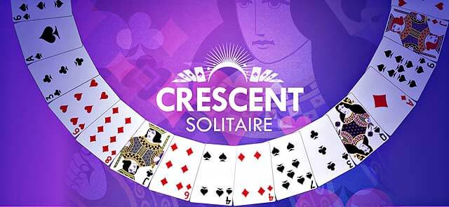 Raw Story's free Crescent Solitaire game