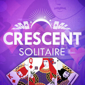 Sixty and Me's online Crescent Solitaire game