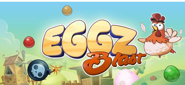 My Statesman's free Eggz Blast game