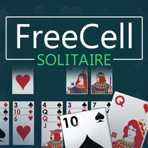 Express's online FreeCell Solitaire game