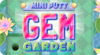 Mini Putt Garden: Collect gems as you aim for a hole-in-one!