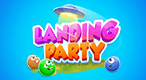 Landing Party: Match 5 same-colored aliens to stop their invasion!