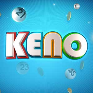 Sixty and Me's online Keno game