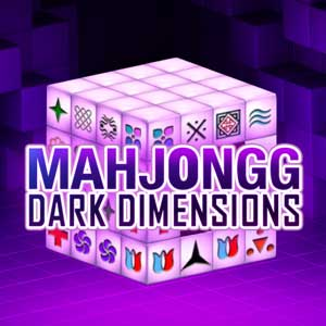 Columbia's online Mahjongg Dark Dimensions game