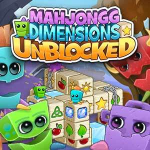 Parade's online Mahjongg Dimensions Unblocked game