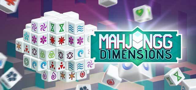 Houston Chronicle Deux's free Mahjongg Dimensions game