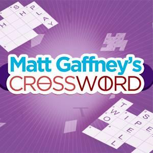 MeTV's online Matt Gaffney's Crossword game