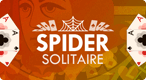 Spider Solitaire: Don't get stuck in a web. Spider Solitaire is a trickier version of this classic game.