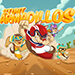 Free Stunt Armadillos game by The Straight Dope Games