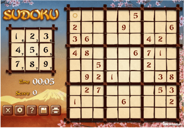 sudoku game Sudoku when it comes to sudoku, we have it covered see for yourself why over 70 million puzzles have been served since we started in 2005.