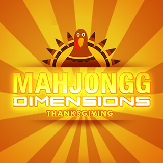 Mahjongg Dimensions: Thanksgiving