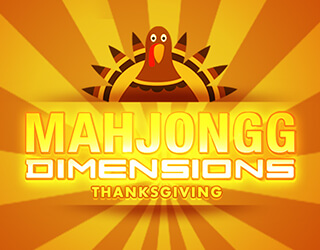 Mahjongg Dimensions: Thanksgiving